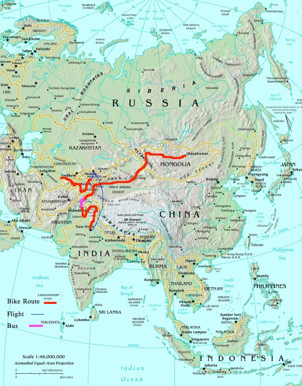 Asia route